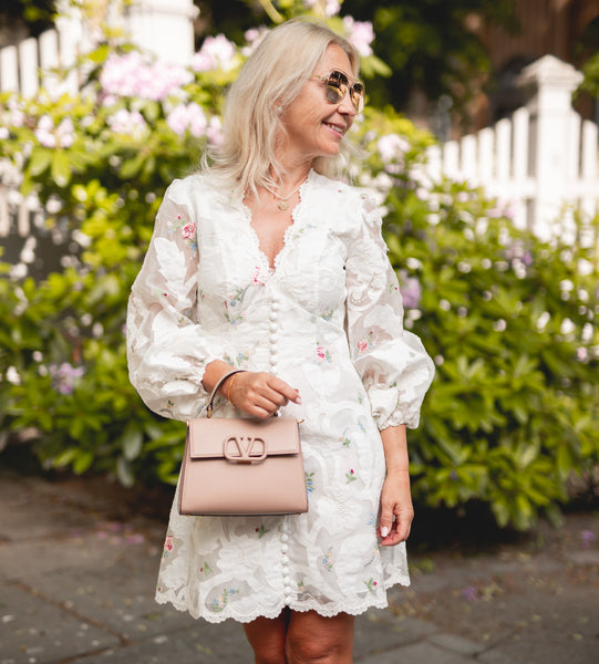 ZIMMERMANN Zinnia Scallop Applique Mini