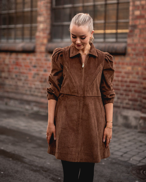 BYTIMO Corduroy mini dress