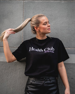 SPORTY & RICH Health Club T Shirt