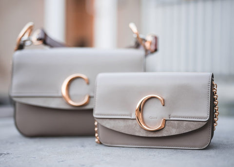 CHLOÉ C CLUTCH MINI