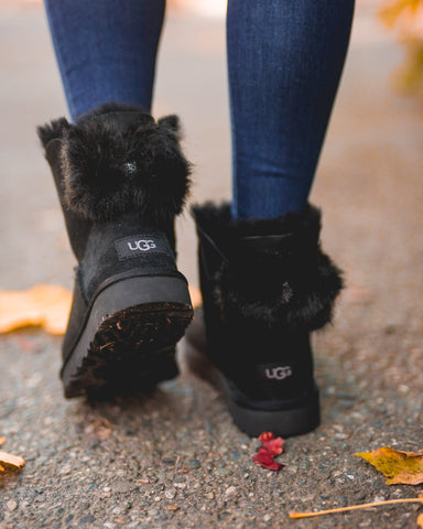 UGG W M Puff Crystal Bow
