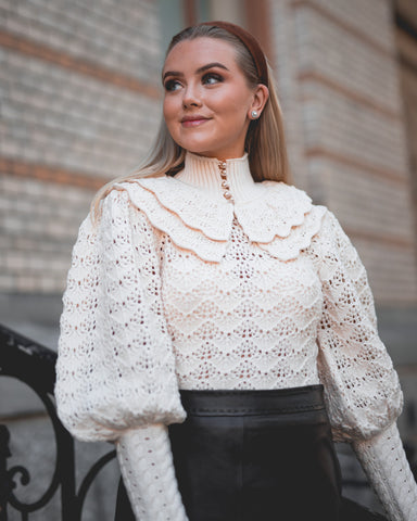 ZIMMERMANN Ladybeetle Crochet Sweater