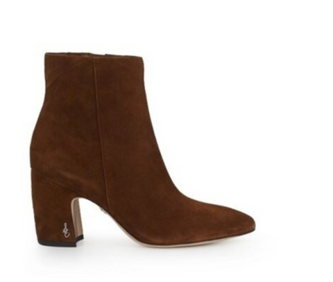 SAM EDELMAN HILTY KID SUEDE LEATHER