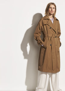 VINCE Belted Tech Trench