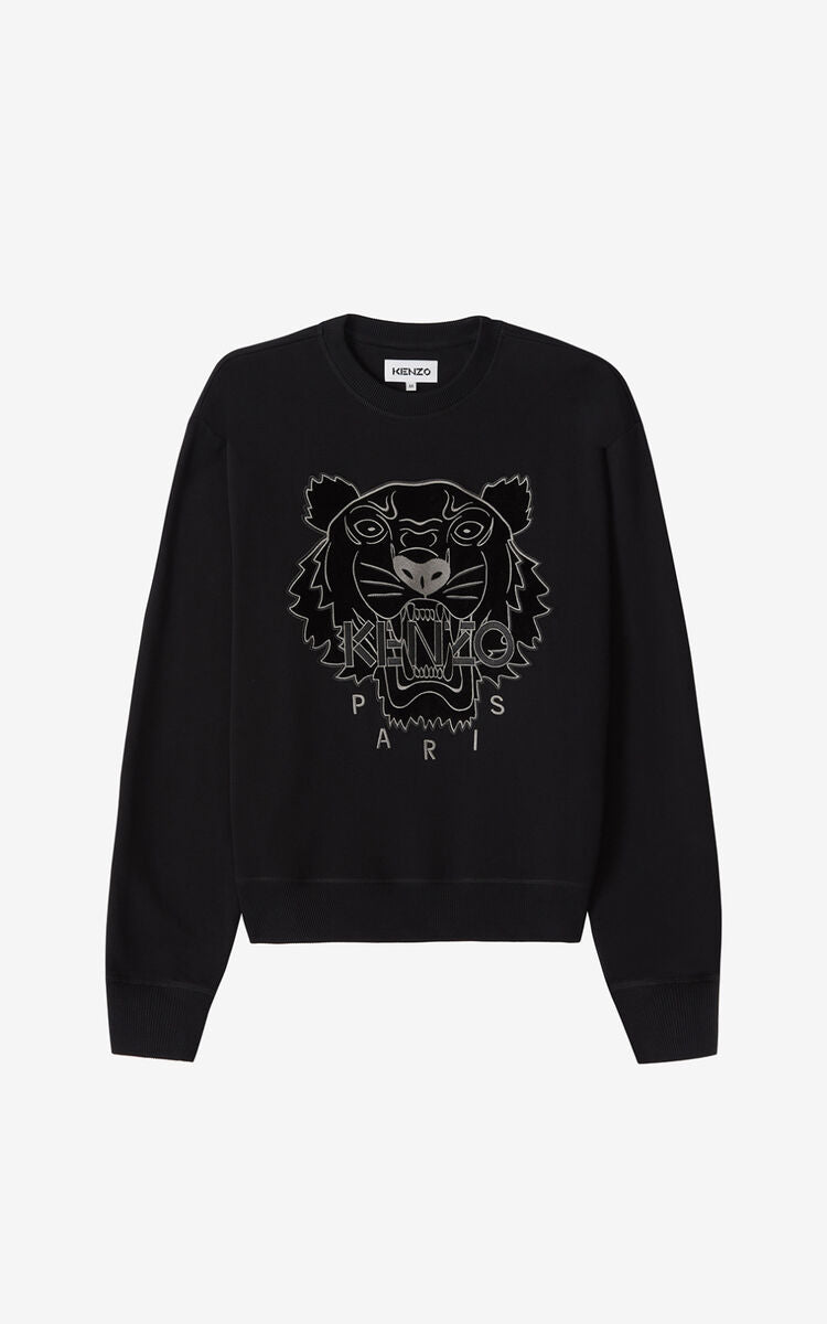KENZO CLASSIC SWEAT EMBROID TIGER