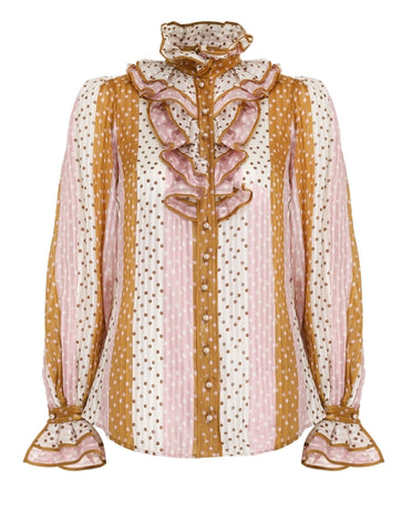 ZIMMERMANN Lucky Ruffled Shirt