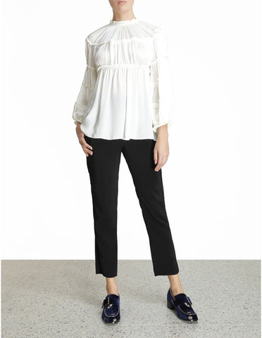ZIMMERMANN Silk Tiered Blouse