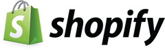 Shopify Logo - Click to begin Free Trial