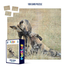 Load image into Gallery viewer, Derek Hough - 108 Card Puzzle - Animal Kisses