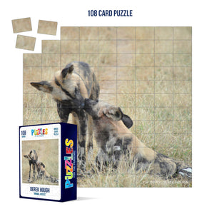 Derek Hough - 108 Card Puzzle - Animal Kisses
