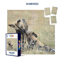 Load image into Gallery viewer, Derek Hough - 54 Card Puzzle - Animal Kisses