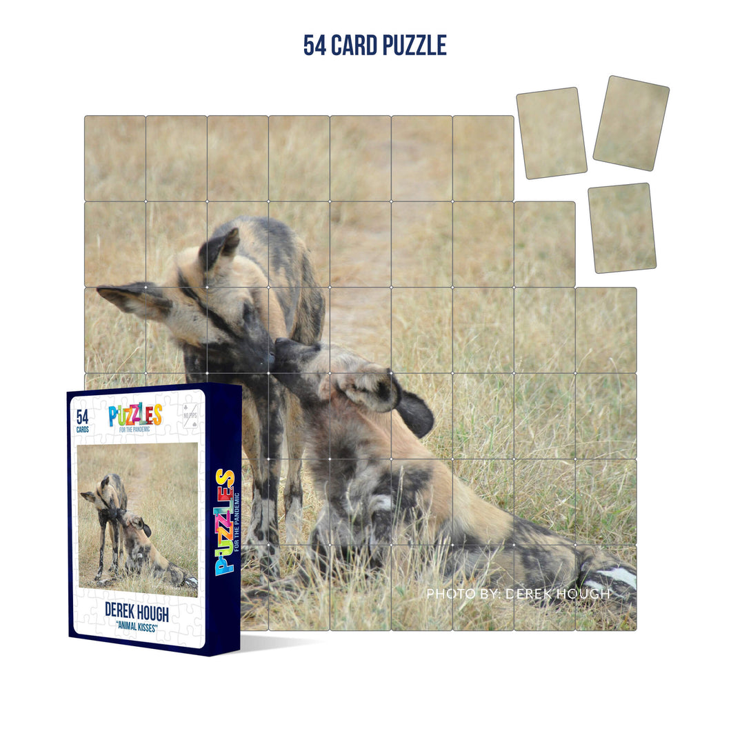 Derek Hough - 54 Card Puzzle - Animal Kisses