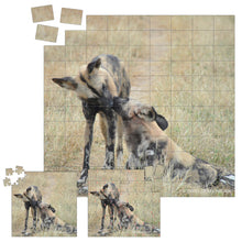 Load image into Gallery viewer, Derek Hough - Playing Card and Jigsaw Puzzles - Animal Kisses