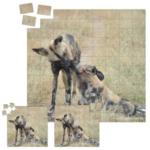 Derek Hough - Playing Card and Jigsaw Puzzles - Animal Kisses