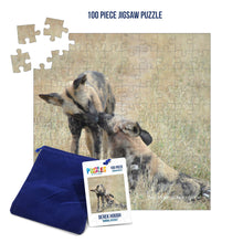 Load image into Gallery viewer, Derek Hough - 100 Piece Jigsaw Puzzle - Animal Kisses