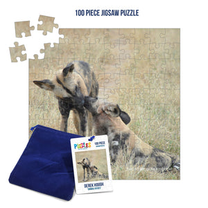 Derek Hough - 100 Piece Jigsaw Puzzle - Animal Kisses