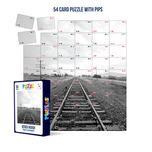 Derek Hough - 54 Card Puzzle with PIPS - Tracks to Anywhere