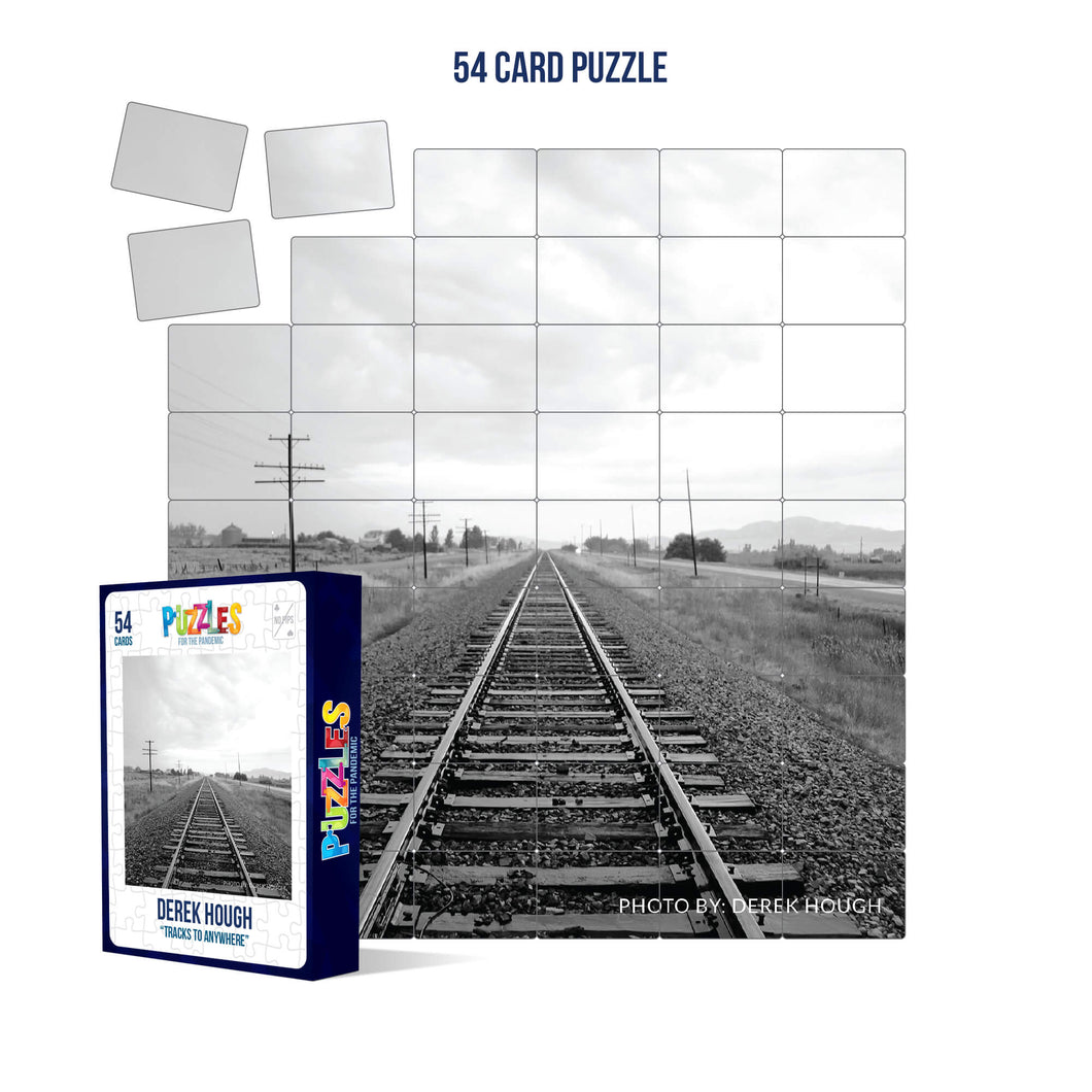 Derek Hough - 54 Card Puzzle - Tracks to Anywhere