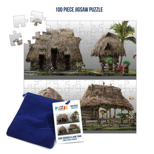 HumaNature Studios - Spirit People Houses, 100 Piece Jigsaw Puzzle