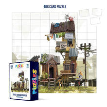 Load image into Gallery viewer, HumaNature Studios - Thai River House, 108 Card Puzzle