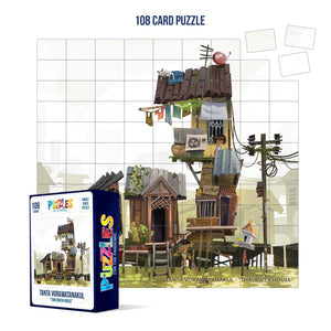 HumaNature Studios - Thai River House, 108 Card Puzzle