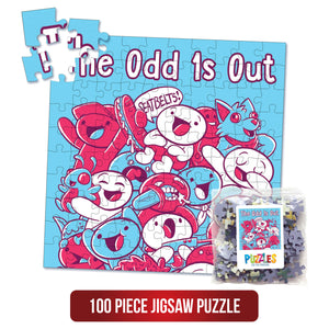 The Odd 1s Out - 100 Piece Jigsaw People