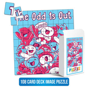 The Odd 1s Out - 108 Card Puzzle