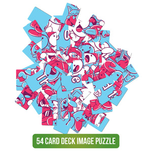 The Odd 1s Out - 54 Card Puzzle
