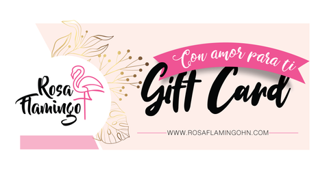 Rosa Flamingo Gift Card