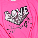 LOVE Yourself Knot Crop Top