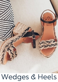 Wedges – Espadrille, Heel & Leather Wedges