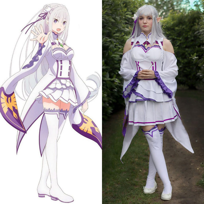 Emilia Cosplay Review From Re:Zero Starting Life in Another World