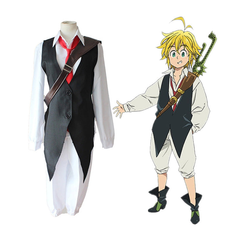 Anime The Seven Deadly Sins Meliodas Cosplay Costume - Cosplay Clans