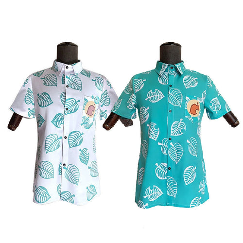 Animal Crossing Timmy Tommy Isabelle Short Sleeve Shirts Cosplay Costumes - Cosplay Clans