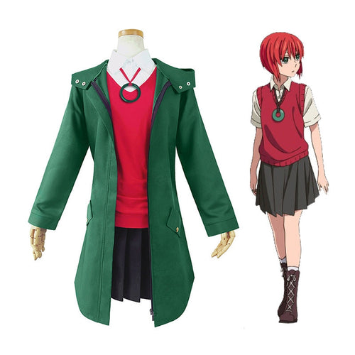 Anime The Ancient Magus' Bride Chise Hatori Outfits Cosplay Costume - Cosplay Clans
