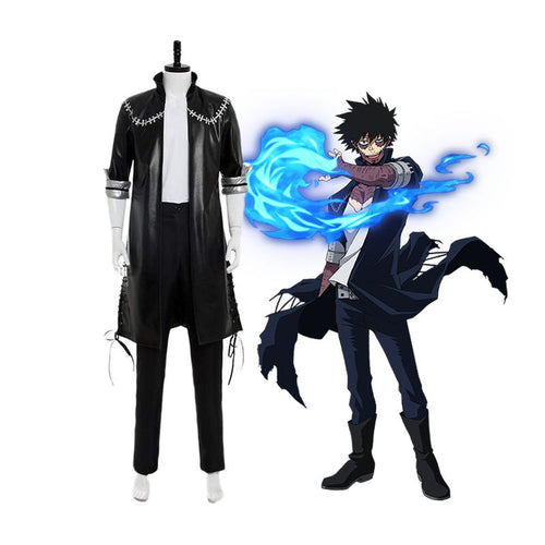 Anime My Hero Academia Vanguard Action Squad Dabi Oufits Cosplay Costume - Cosplay Clans