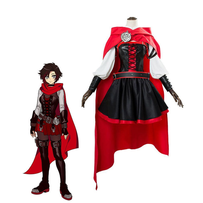 Anime RWBY Volume 7 Ruby Rose Cosplay Costumes - Cosplay Clans
