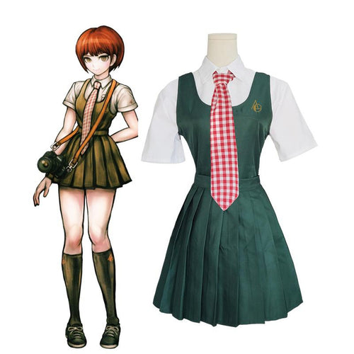 Anime Danganronpa 2: Goodbye Despair Mahiru Koizumi Cosplay Costumes - Cosplay Clans