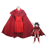 Anime Yashahime: Princess Half-Demon Moroha Outfits Cosplay Costume - Cosplay Clans