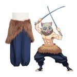 Anime Demon Slayer Kimetsu no Yaiba Inosuke Hashibira Cosplay Costume - Cosplay Clans
