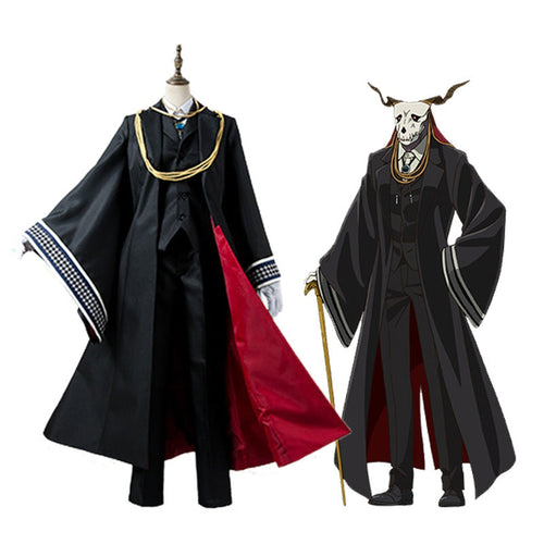Anime The Ancient Magus' Bride Elias Ainsworth Outfits Cosplay Costume - Cosplay Clans