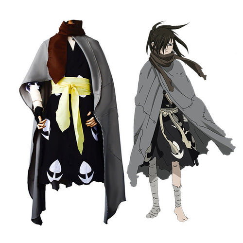 Anime Dororo Hyakkimaru Outfits Halloween Cosplay Costume