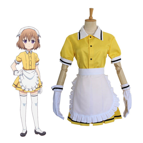 Anime Blend S Mafuyu Hoshikawa Maid Uniform Cosplay Costumes - Cosplay Clans