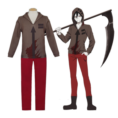 Anime Angels of Death Isaac Foster Zack Outfits Cosplay Costume - Cosplay Clans