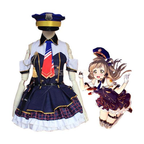 Anime LoveLive! Minami Kotori Police Uniform Cosplay Costume - Cosplay Clans