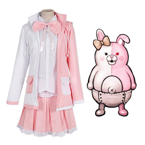 Anime Danganronpa 2: Goodbye Despair Monomi Cosplay Costumes - Cosplay Clans