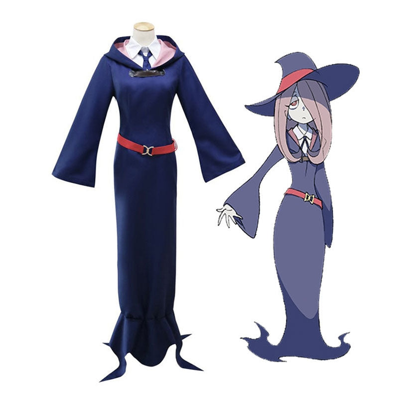 Anime Little Witch Academia Sucy Manbavaran Outfits Cosplay Costume - Cosplay Clans
