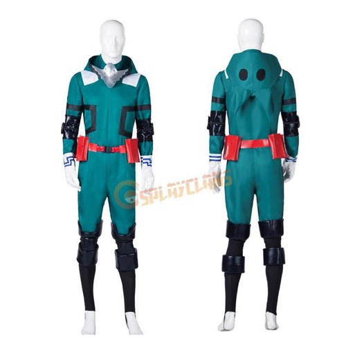 My Hero Academia Midoriya Izuku Deku Battle Suit Cosplay Costumes