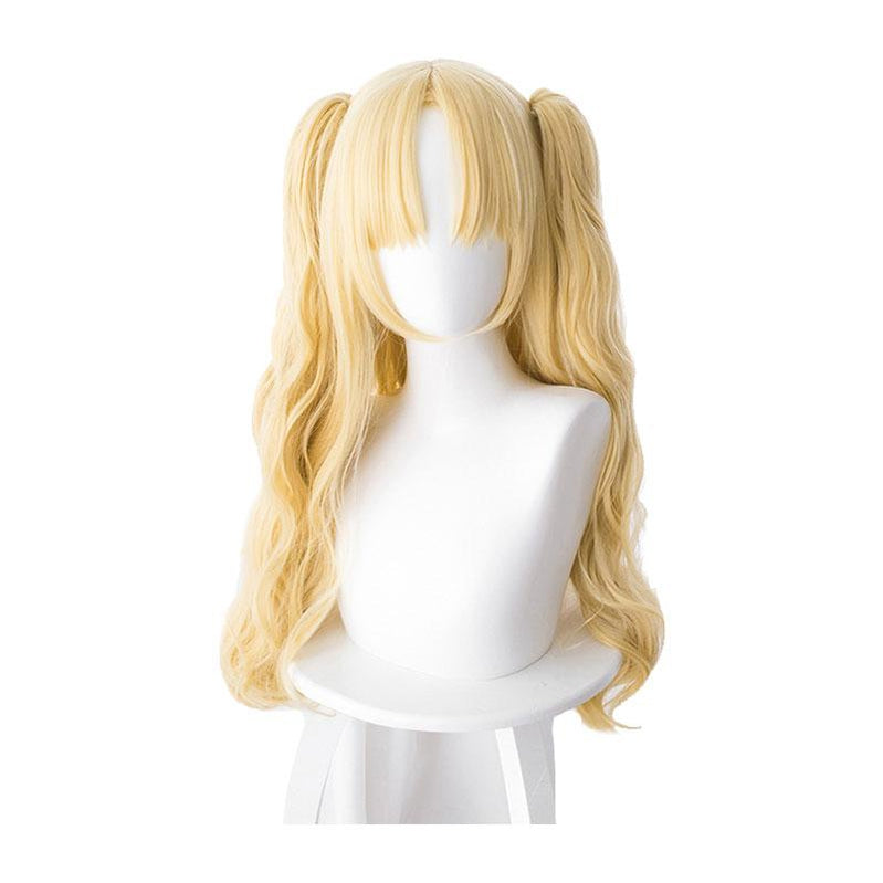 FGO Fate/Stay Night Ereshkigal Tohsaka Rin Blonde Curved Long Ponytails Cosplay Wigs - Cosplay Clans