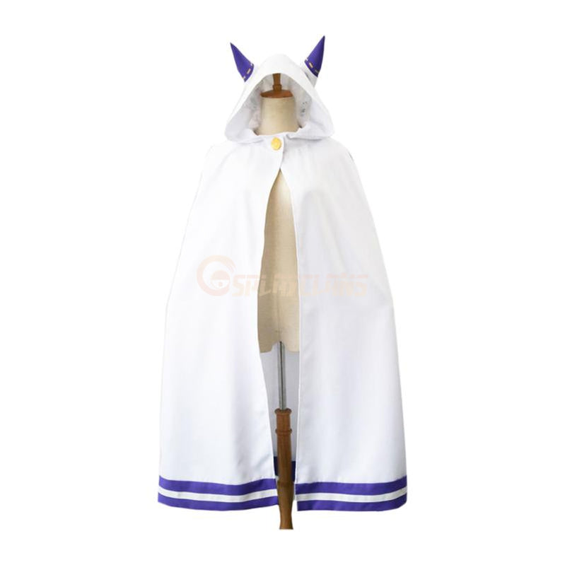 Anime Re:Zero Starting Life in Another World Emilia Cloak Cosplay Costume - Cosplay Clans